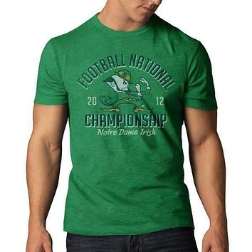 Mens 47 Brand Notre Dame 2013 National Championship Game Tee Shirt