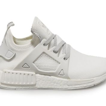 Mens Adidas NMD_XR1 - BY3052 - Triple White Trainers