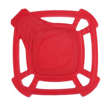 Kitchen Silicone Heat Insulation Pot Pad with Spoon Rest