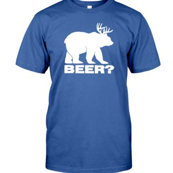 Beer Deer Men's T-Shirt | Funny Shirt