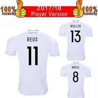 2017 Player Version Germans Soccer Jerseys 2018 Confederations Cup Home White Football