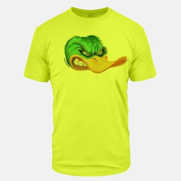 Mad Duck Neon Yellow Tri-Blend T-Shirt