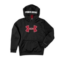 Under Armour Boys' Armour® Fleece Storm Big Logo Hoodie
