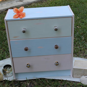 Hand Painted Spring Chest of Drawers