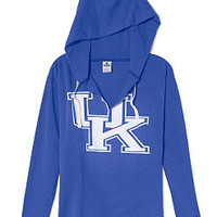 University of Kentucky Vintage Tunic Hoodie - PINK - Victoria's Secret