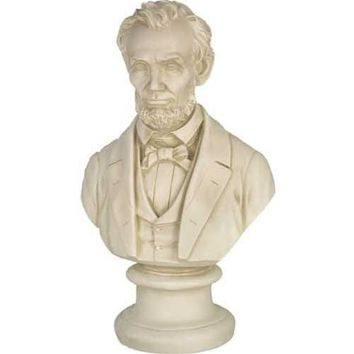 Abraham Lincoln in Suit American President Bust - 18H
