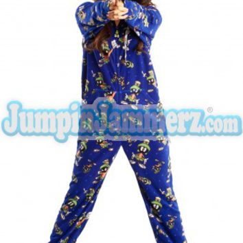 2 piece footed pajamas adult