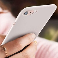 Ultra Slim Colorful Soft Case for iPhones and Samsung Galaxy Phones