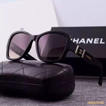 Original Chanel Fashion Nylon Lenses Women Sunglasses 5338 - 237