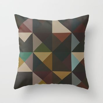 The Nordic Way XV Throw Pillow by Metron