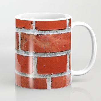 Red tile pattern Mug by PRODUCTPICS