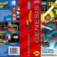 Spiderman X-Men Arcade's Revenge - Sega Genesis (Game Only)