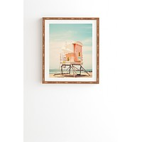 Bree Madden Beach Tower 5 Framed Wall Art
