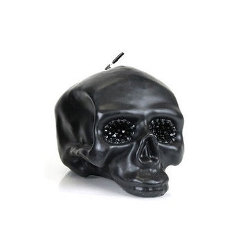DL & Co Medium Black Skull Cystal Eeye