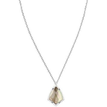 CORY NECKLACE IN BLACK PEARL by Kendra Scott