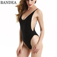 Newest Colors One Piece Swimwear Set Sexy Bandage High Cut Swimsuit Women Bathing Suits Beach Swimsuit Set