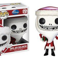 Funko Pop Disney: Nightmare Before Christmas - Santa Jack Vinyl Figure