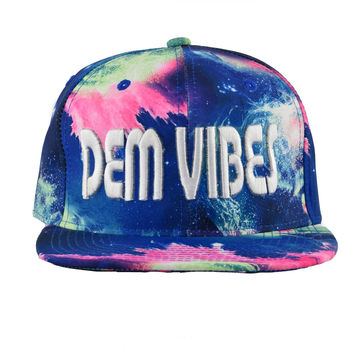 Cosmic Ice Snapback Rave Hat