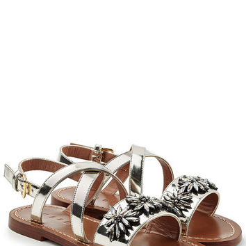 Embellished Leather Sandals - Marni | WOMEN | US STYLEBOP.COM