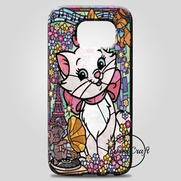 Marie Cat DisneyS The Aristocats Stained Glass Samsung Galaxy Note 8 Case | casescraft