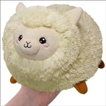 Mini Squishable Happy Alpaca