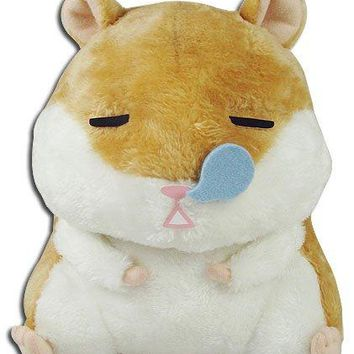 Great Eastern GE-52155 Brown Sleeping Hamster Plush Stuffed, 8""