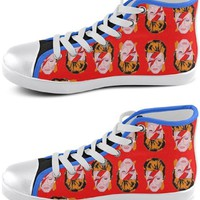 David Bowie Pop Icon Sneakers - Available in High Tops, Low Tops or Slip Ons