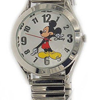 "Disney Women ""Vintage"" Mickey Mouse Stretch band Watch"
