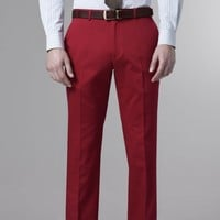 LA BOCA FIRE RED CHINOS