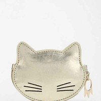 Cooperative Kitty Zip-Pouch- Gold One