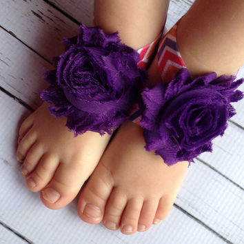 25% OFF all orders Aztec Baby Barefoot Sandals….Baby Barefoot Sandals…Purple Orange Pink Barefoot Sandals