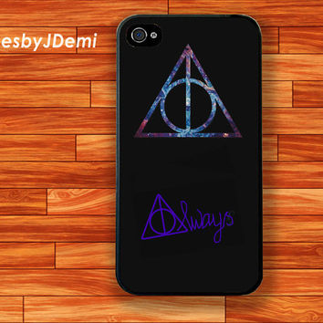 Harry Potter Always- iPhone 4 /4S case, iPhone 5 /5c/ 5s, Samsung Galaxy S3/S4 case, Samsung Galaxy Note2, Samsung Galaxy Note 3 case