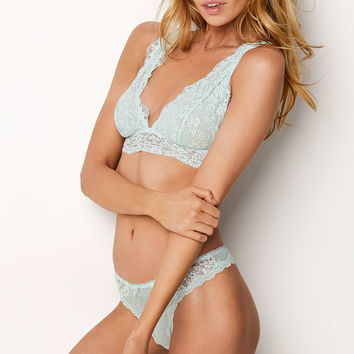Floral Lace Plunge Bralette - The Bralette Collection - Victoria's Secret