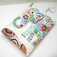 Elephant Changing Mat, Diaper Bag Accessory, Elephant Baby Gift, Baby Shower Gift Idea