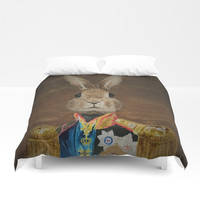 The most innocent general ever Duvet Cover by Color and Color