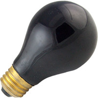 75W MEDIUM BASE INCANDESCENT BLACKLIGHT
