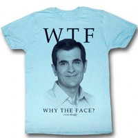 Modern Family Phil Dunphy WTF Why The Face Adult T-shirt