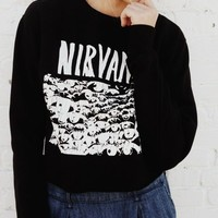 NANCY NIRVANA SWEATSHIRT