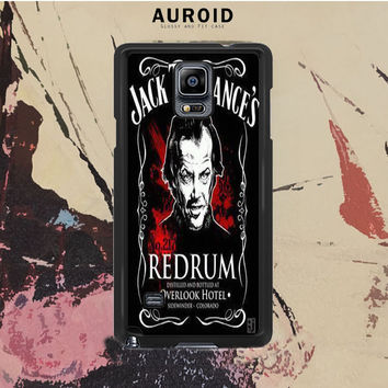 The Shining Jack Torrance Redrum Samsung Galaxy Note 4 Case Auroid