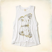 Butterfly Graphic Tank