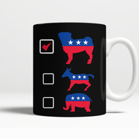 Vote for Pug Coffee Mug