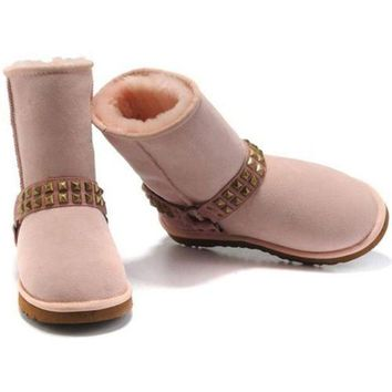 DCCKIN2 Cyber Monday Uggs Boots New Arrival 9819 Pink For Women 98 72