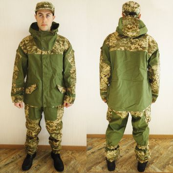 Ultra New Rare Russian Army Spetsnaz Camo Uniform Gorka Set BDU Suit Size S or 46 for Europe