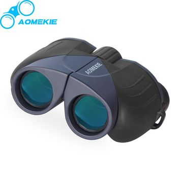 Compact 10X25 HD Wide Angle Viewing Optical Glass Binoculars