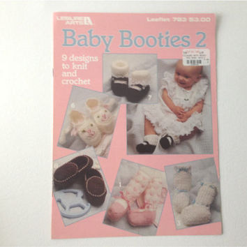 Baby Bootie Patterns to Knit and Crochet Patterns- Baby shoes