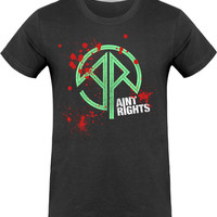 Blood-splattered Ain't Rights t-shirt | WHISKHEELS
