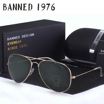 Top quality G15 Vintage Aviation Sunglasses