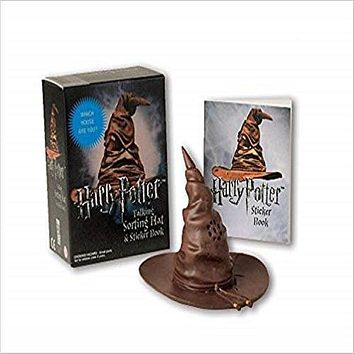 Harry Potter Talking Sorting Hat and Sticker Book:Which House Are You?(Miniature Editions
