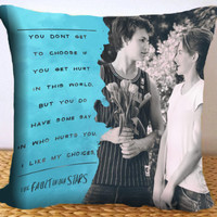 The fault in our stars - John green - AqKuduPiye - Pillow Cover