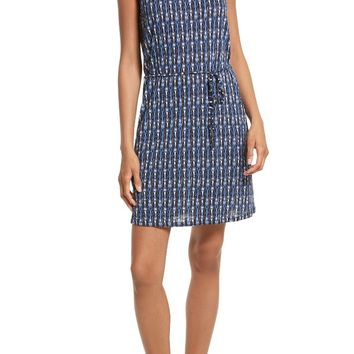 Soft Joie Madia B Ikat Print Knit Dress | Nordstrom